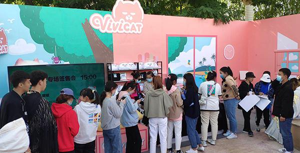 ViViCat空降宁夏动漫节热掀吸猫风潮